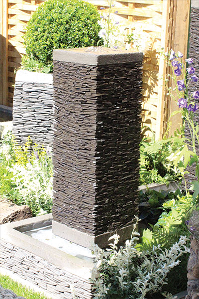 Globe Slate Water Features
